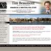 Tim Beaumont Website Design