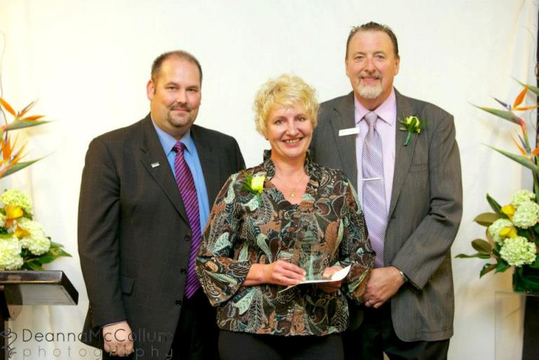 Westshore Chamber Award 2012 Business of the Year Patricia Wade Design Langford BC